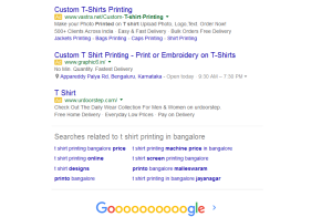 Adwords Bottom Ads
